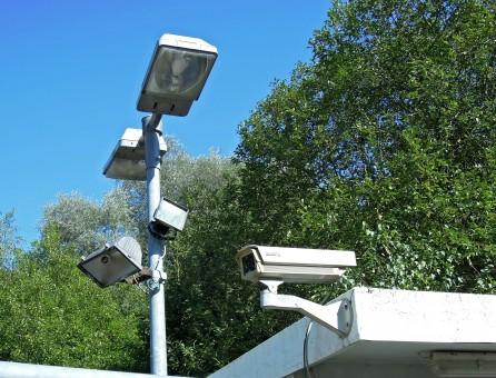 cãmaras de vigilância